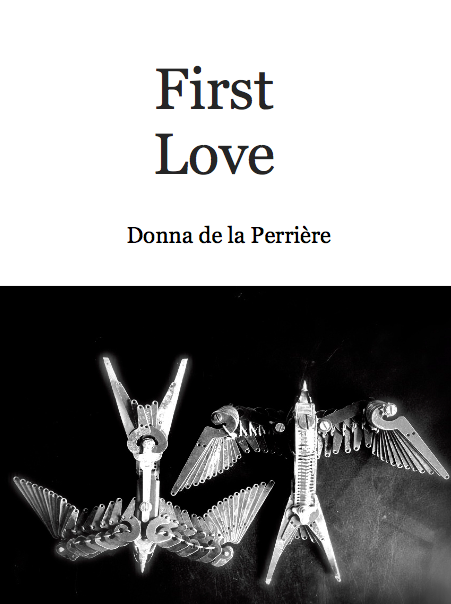 first love chapbook cover